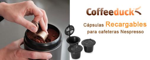 Capsulas Rellenables Coffeeduck